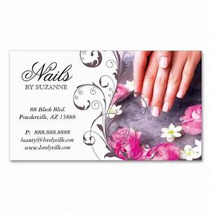 1938 best nail technician business cards images on With nail salon business card