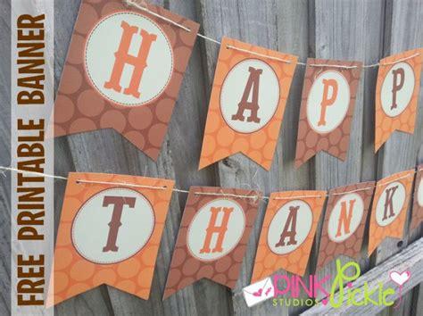 diy thanksgiving banners  girl creative