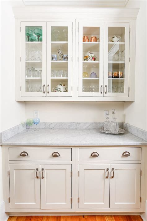 Cupboard White by Luxury South Carolina Home Features Inset Shaker Cabinets
