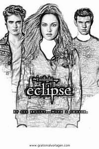 Eclipse, Twilight, 17, Gratis, Malvorlage, In, Comic