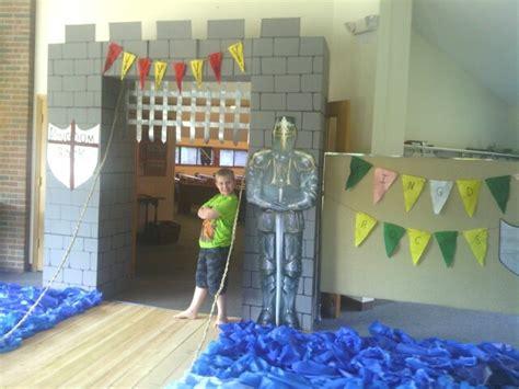 Castle Entrance Made Of Cardboard Bo For Ellie