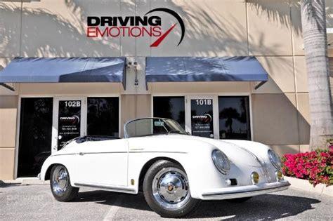 1966 Porsche 356 Speedster Replica Speedster
