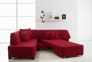 Sofas luxury your living room sofas design with red for Used red sectional sofa