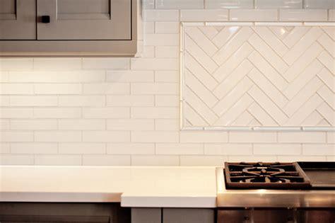herringbone backsplash contemporary kitchen benjamin