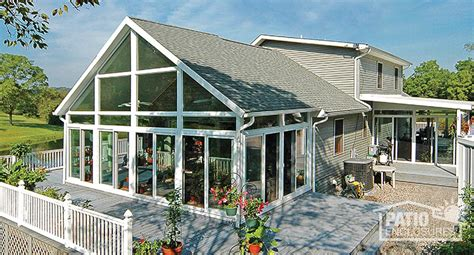 Four Seasons Sunroom by How To Enclose A Patio Porch Or Deck