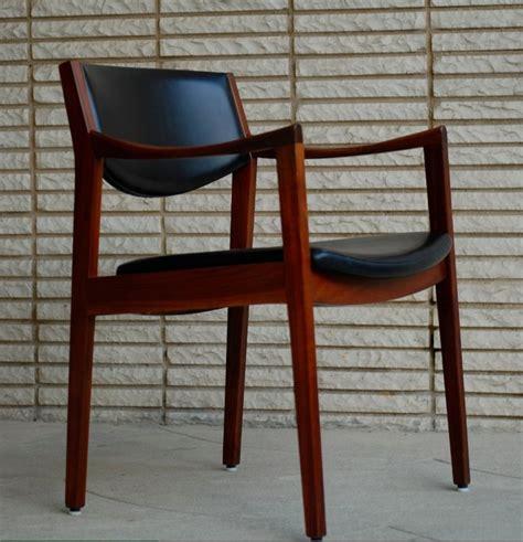 W H Gunlocke Chair Value by Midcentury Gunlocke Walnut Arm Chair In
