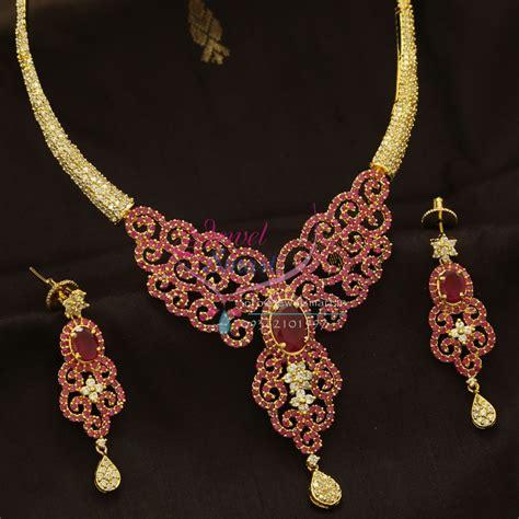 nl cz ruby diamond design imitation jewellery gold