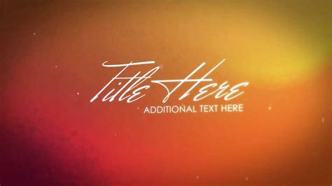 Free After Effects Text Templates by Free After Effects Template Basic Text Transitions