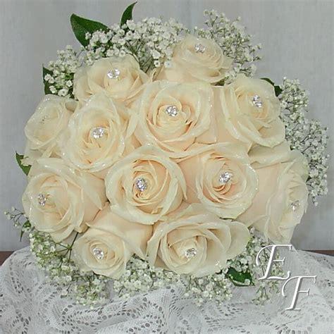 white rose bouquet ef  essex florist greenhouses