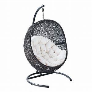 Fauteuil Suspendu Sur Pied : fauteuil suspendu de jardin cocoon epuise m achat ~ Melissatoandfro.com Idées de Décoration