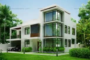 Home Design Gallery - modern house design 2012002 eplans