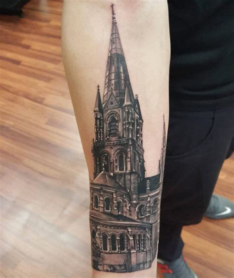 awesome architecturally inspired tattoo designs