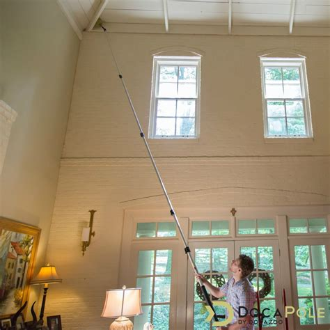 docapole  foot extension pole  cobweb duster docazoo