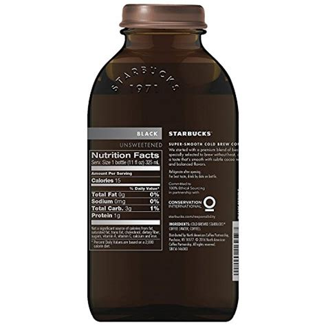 Cold press coffee is a delicious cold coffee drink where you might want to grab a comfortable lounge chair on so grab yourself a brita filter, at least, a bottle of filtered whatever, or do whatever cold brew coffee recipe. Starbucks Cold Brew Coffee, Black Unsweetened, 11 oz Glass Bottles, 6 Count - thebeanbrewer.com