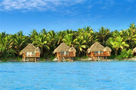 Honeymoon Cook Islands Overwater Bungalow Vacation