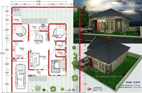 gambar desain rumah type  minimalis jasa desain rumah