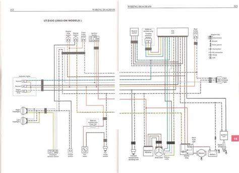 Kfx400 Wiring Diagram by 2004 Suzuki Ltz 400 Voltage Charging Issues Suzuki Atv