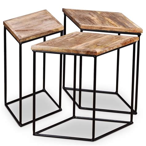 We have furniture, serving supplies and accessories that set a stage your customers will. Coffee Table Solid Mango Wood 48x48x40 Cm   Furniture Supplies UK