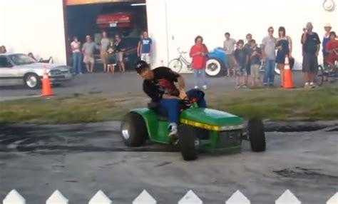 Slicks Garage Lawn Mower Engine by Bangshift Slicks Garage Deere Tractor