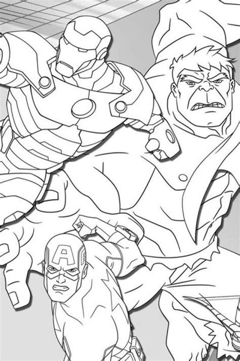 avengers coloring pages kidsuki