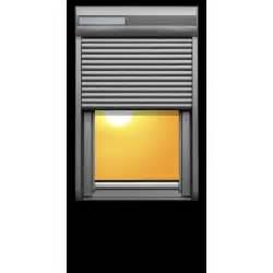 Prix Volet Roulant Solaire : volet solaire velux 78x98cm store pour fen tre de toit ~ Dailycaller-alerts.com Idées de Décoration