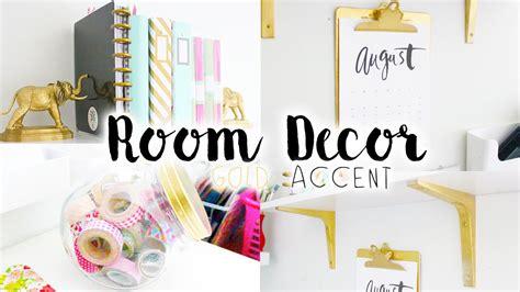 black and gold bedroom decor diy room decor organization gold accent