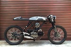 Honda Win 100cc Vintage Cafe Racer By Izal Lazi