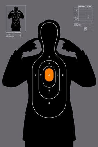 shooting target  shirt