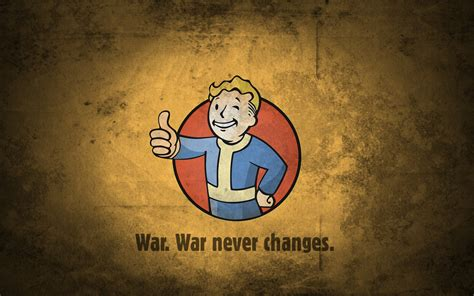 Fall Iphone 6 Wallpaper Fallout Vault Boy War Never Changes Wallpaper And Background Image 1680x1050 Id 656605