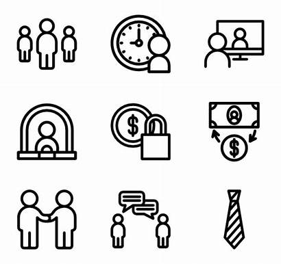 Administration Icon Business Administrator Icons Packs Vector