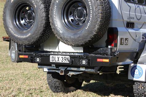 series troopcarrier rear bar  dual wheel