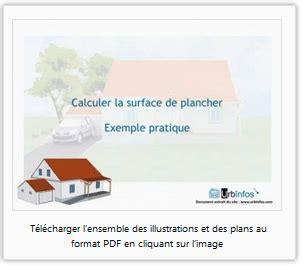 calculer la surface de plancher aide au calcul exemple pratique illustr 233