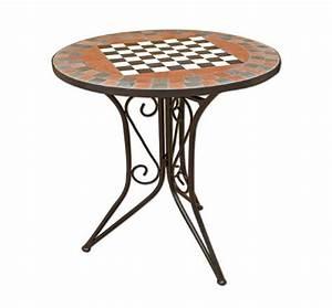 Petite Table De Jardin : table de jardin en fer jardin et patio ~ Dailycaller-alerts.com Idées de Décoration