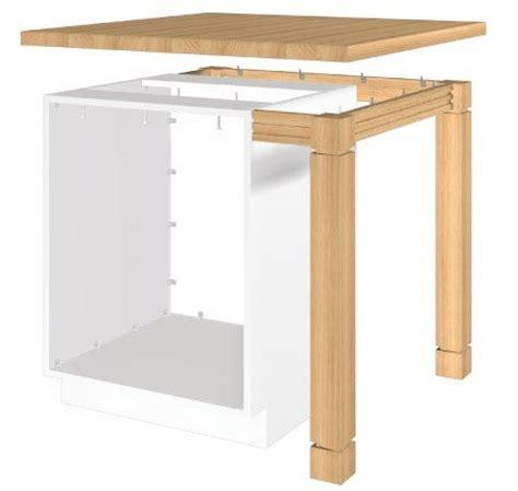 fabriquer un bar de cuisine mini îlot de cuisine plan pour installer un comptoir