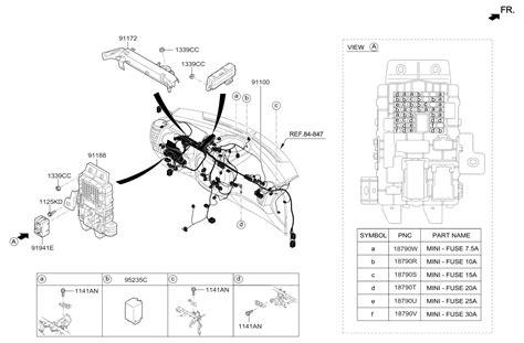 Genuine Kia Wiring Assembly Main