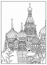Coloring Buildings Pages Tower Popular Mean sketch template