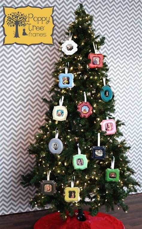 christmas ornament frames poppy tree frames