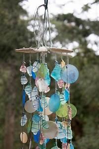 Fabriquer Un Carillon : carillon de vent verre mer mer de verre par coastalartistry1 jardinage birds carillons ~ Melissatoandfro.com Idées de Décoration