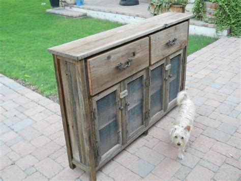 Custom Slim Wooden Buffet Cabinet By Treehousewoodworks