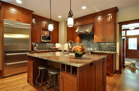 The Tile Shop Dallas by Craftsman Inspired Kitchen Craftsman Kitchen Dallas