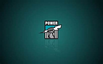 Port Power Adelaide Logos Wallpapers Hipwallpaper