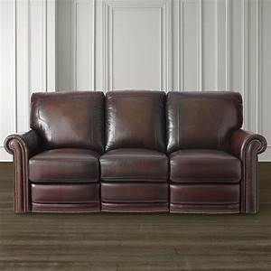 old world style leather motion sofa With sectional couches with built in recliners