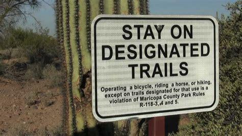 Usery Mountain Regional Park: Trail Etiquette YouTube