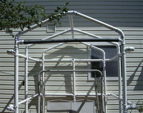 Gazebo Pvc Pvc Quot Gazebo Quot Greenhouse Frame Perhaps Garden