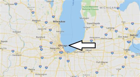 Which state is Chicago located? Is Chicago in North ...