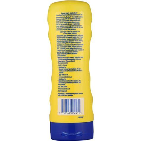 Banana Boat Hours by Banana Boat Suncomfort Sunscreen Spf50 175ml Woolworths
