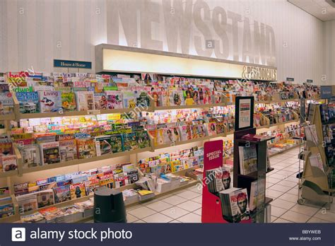 Barnes And Nobles Magazines by Magazines And Periodicals On Display At Newsstand Barnes