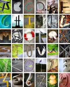 Photography Alphabet Letter Objects