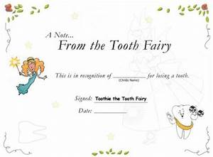 the gallery for gt tooth fairy template With free printable tooth fairy certificate template
