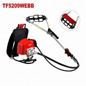 Manual Two Stroke Backpack Weed Trimmer